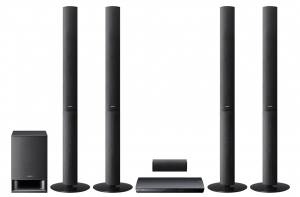 CES 12 > Sony BDV-E690 : chaîne Blu-Ray 3D Ready 5.1 avec 4 colonnes