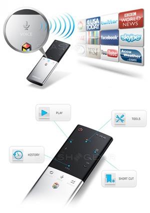 CES 12 > Samsung Smart Touch Control : pour TV Samsung ES7000 et Samsung ES8000