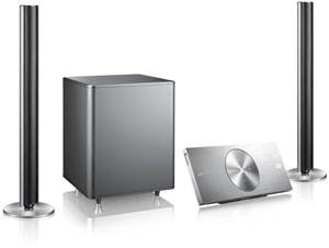 Samsung HT-ES8200 : chaîne Blu-Ray 3D Ready 2.1 design