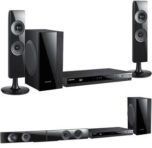 Samsung HT-ES4200 : chaîne Blu-Ray 3D 2.1 convertible en barre sonore