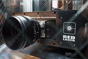 Nab 2012 > Red crée l'événement : un vidéoprojecteur laser 4K et un lecteur 4K !