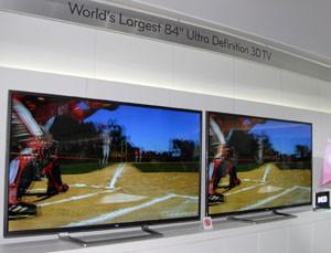 Téléviseur LED LG 84'' : une idée du prix indicatif…
