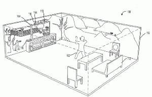 Jeu vidéo immersif par Microsoft : le salon devient écran panoramique