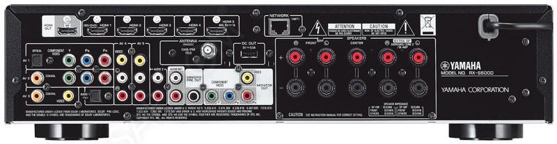 ifa 13 yamaha rx s600 amplificateur audio vid o 5 1 slim. Black Bedroom Furniture Sets. Home Design Ideas