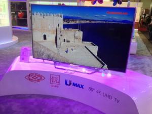 IFA 13 > TV LED Changhong Ultra HD : trois diagonales annoncées pour 2014