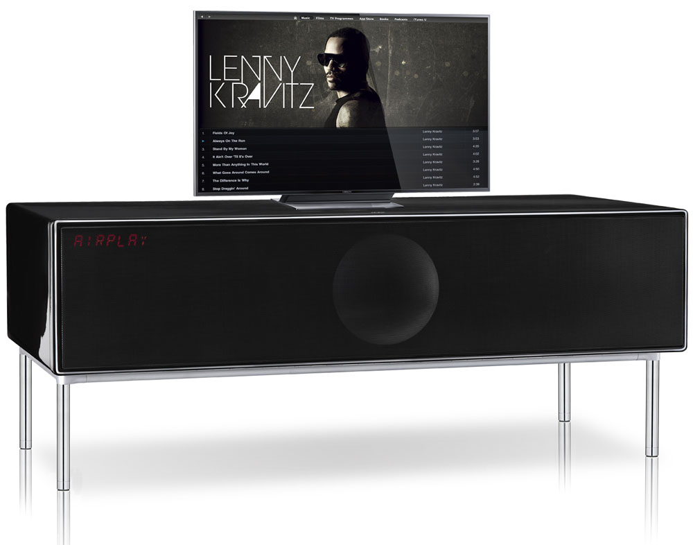 geneva xxl wireless meuble tv 5 1 dlna airplay