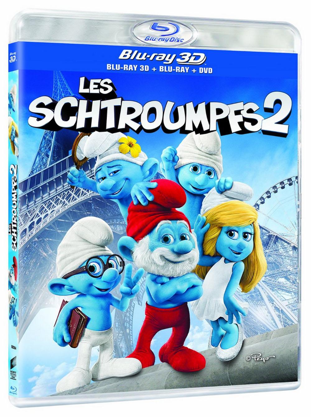 Les schtroumpfs 2 en blu ray bd 3d dvd schtroumpf toujours - Stroumph grincheux ...