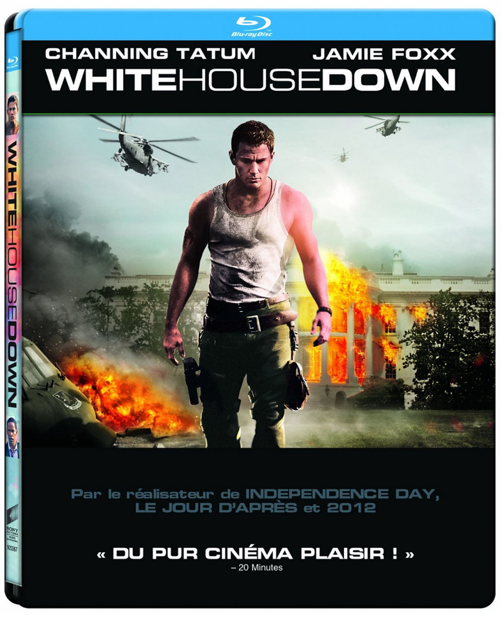 White house down bient t en blu ray dvd la maison for A la maison blanche saison 6