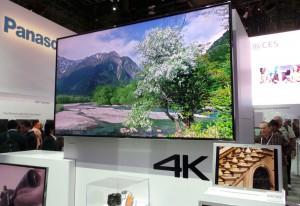 CES 14 > LED Ultra HD Panasonic AX900 : 55'', 65'' et 85'', HEVC, HDMI 2