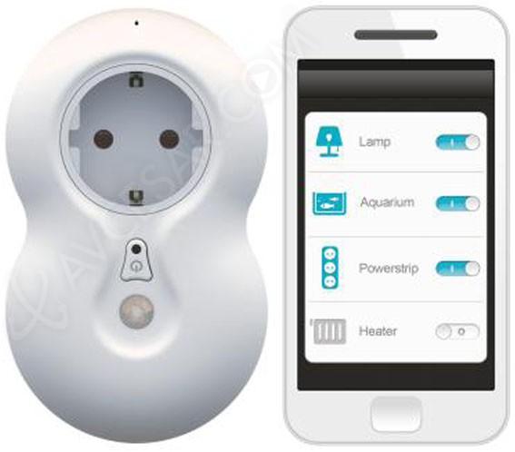 Beewi smart plug bbp200 prise lectrique contr lable - Internet prise electrique ...