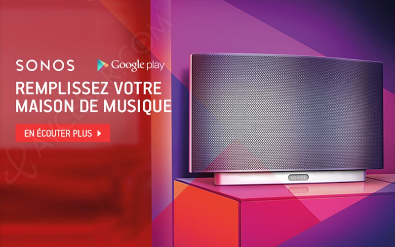offre sonos google play music abonnement gratuit pour six mois. Black Bedroom Furniture Sets. Home Design Ideas