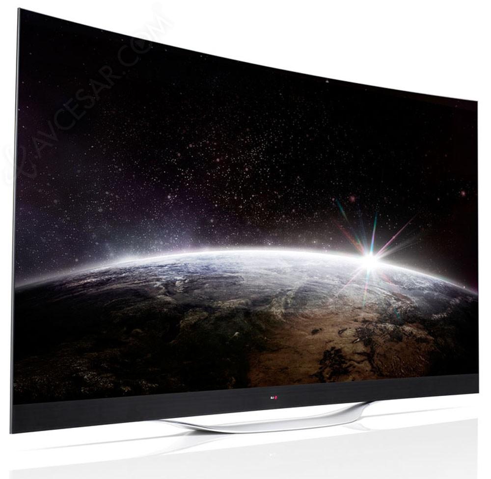 tv oled courbes lg 65ec970v lg 77ec980v premi re id e. Black Bedroom Furniture Sets. Home Design Ideas