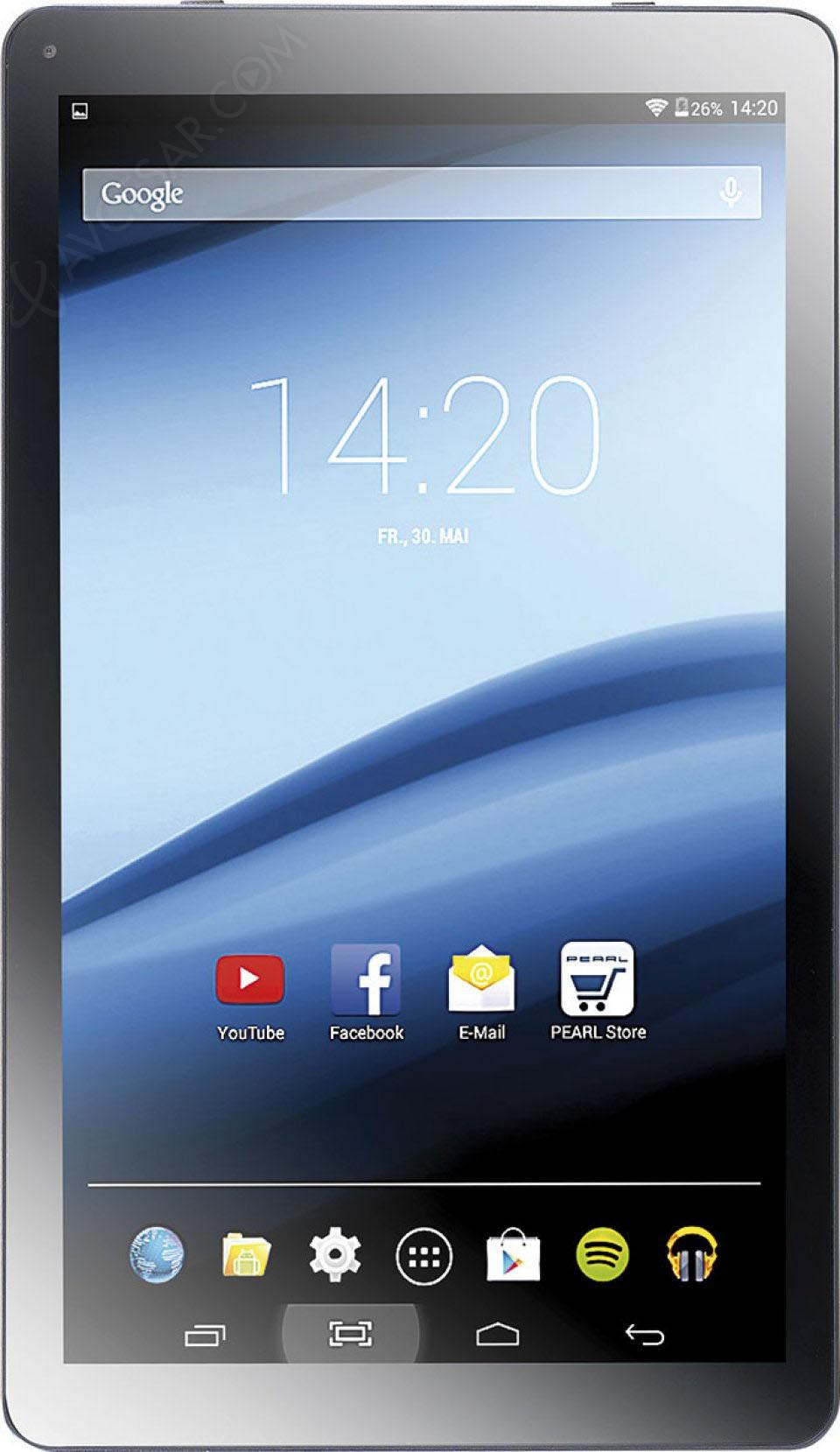 Pearl touchlet xa100 tablette petit prix mais sans - Tablette a petit prix ...