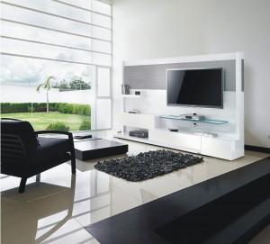 Mobuler arrive en Europe : meubles TV/Hi-Fi indémodables