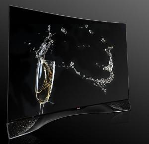 IFA 14 > LG Oled Swarovski : TV courbe incrusté de cristaux