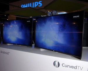 IFA 14 > TV LED Ultra HD Philips PUS8909 : Android TV courbe annoncé