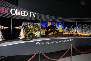 IFA 14 > TV Oled courbe LG 77EC970V : mise à jour prix indicatif et disponibilité