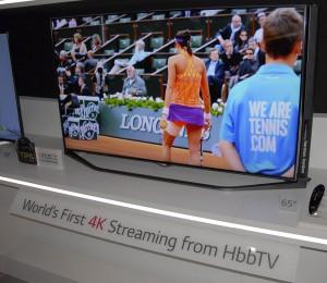 IFA 14 > VOD Ultra HD/4K via HBBTV France TV : disponible sur les TV LG Ultra HD/4K