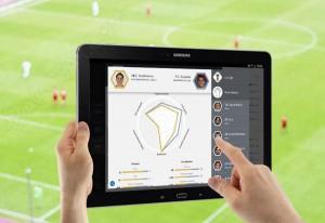 Samsung Kick : application pour fans de football