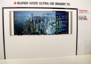 IFA 14 > TV Ultra HD Toshiba : concept Mirroir et Multi-écran