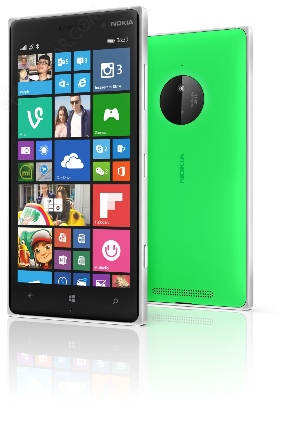 nokia lumia 930 un windows phone 8 1 4g 5 pouces. Black Bedroom Furniture Sets. Home Design Ideas