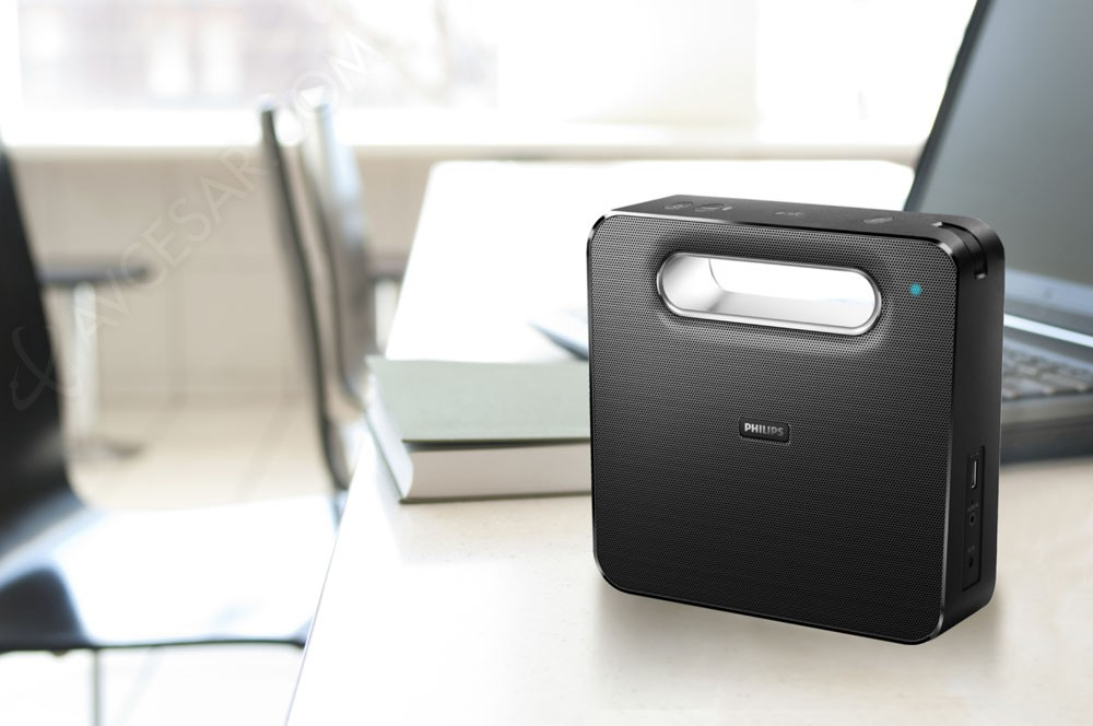 philips bt5550 enceinte bluetooth nfc nomade. Black Bedroom Furniture Sets. Home Design Ideas