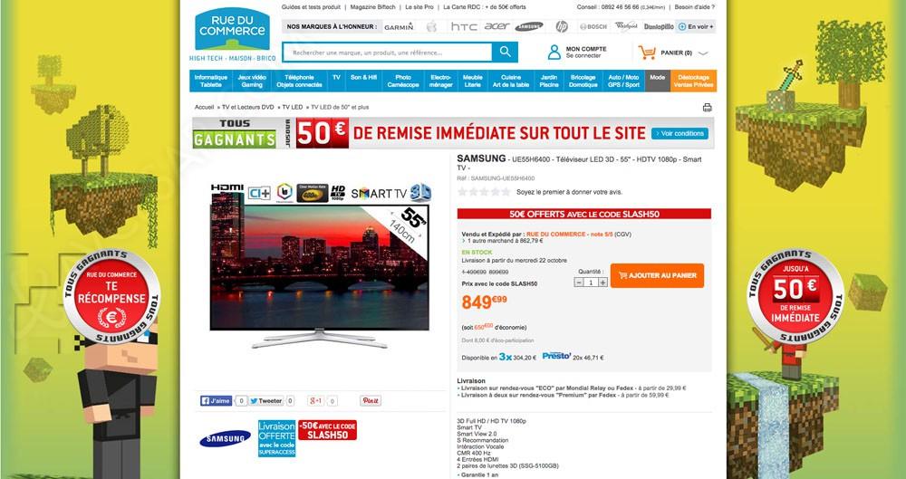 Promos internet tv led full hd les prix les moins chers du jour avcesar - Prix moins cher du net ...