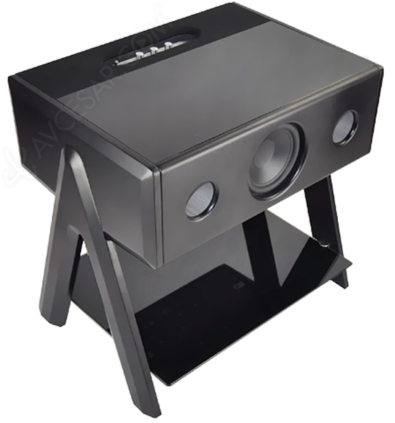 la bo te concept cube thruster table basse sonore. Black Bedroom Furniture Sets. Home Design Ideas