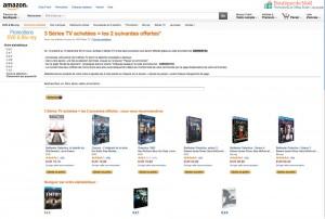 Promotions séries TV Amazon : à ne pas rater en Blu-Ray/DVD