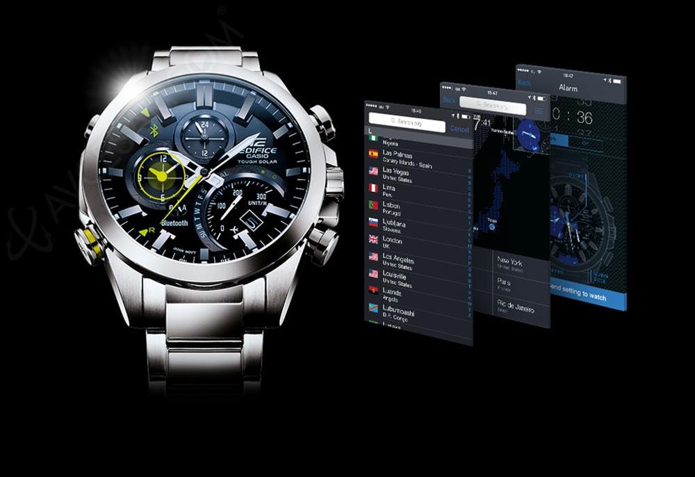 Casio Edifice EQB 500 : montre sport F1 connectée  OuvvZ