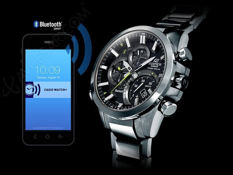 Casio Edifice EQB 500 : montre sport F1 connectée  UztyM