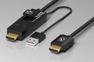 HD Elite Active HD : câble avec upscaler Marseille intégré