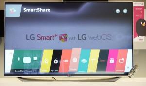 CES 15 > LED Smart TV LG WebOS 2.0 : plus rapide et nouvelles fonctionnalités