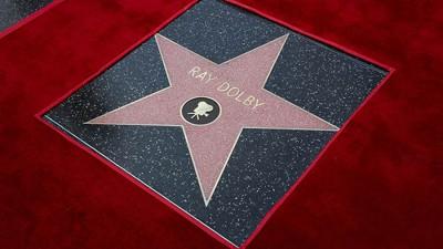 Une étoile pour Ray Dolby : sur Hollywood Boulevard