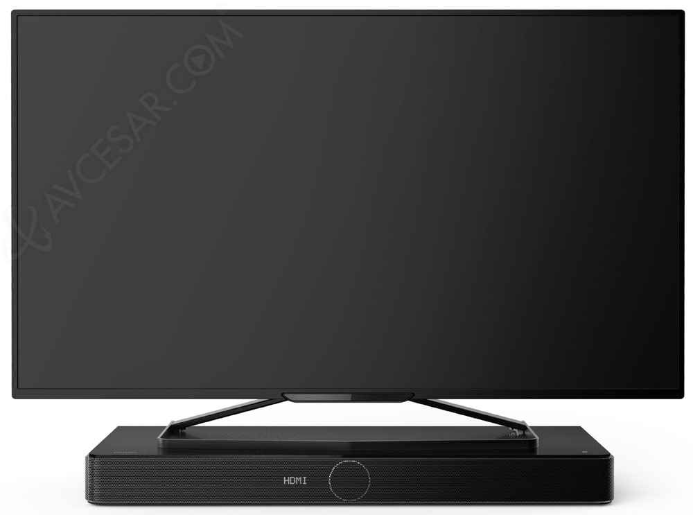 philips htl5130b barre sonore support tv 3 1 compacte. Black Bedroom Furniture Sets. Home Design Ideas