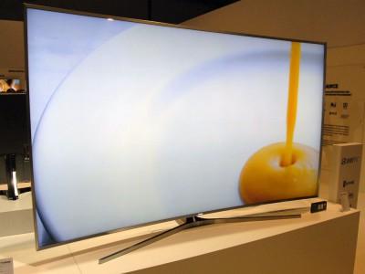TV LED Ultra HD Samsung JS9500 courbes : mise à jour spécifications SUHD