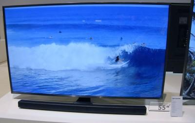 TV LED Ultra HD Samsung JU7000 : quatre tailles d'écran en approche