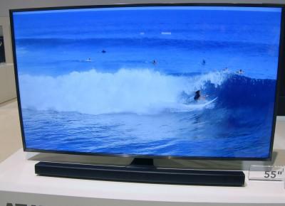 TV LED Ultra HD Samsung JU6410 : trois diagonales au programme