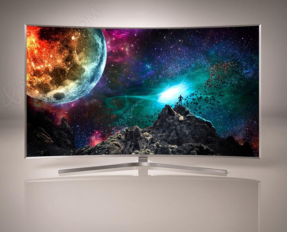 tv led ultra hd samsung js9500 courbes mise jour prix indicatifs. Black Bedroom Furniture Sets. Home Design Ideas