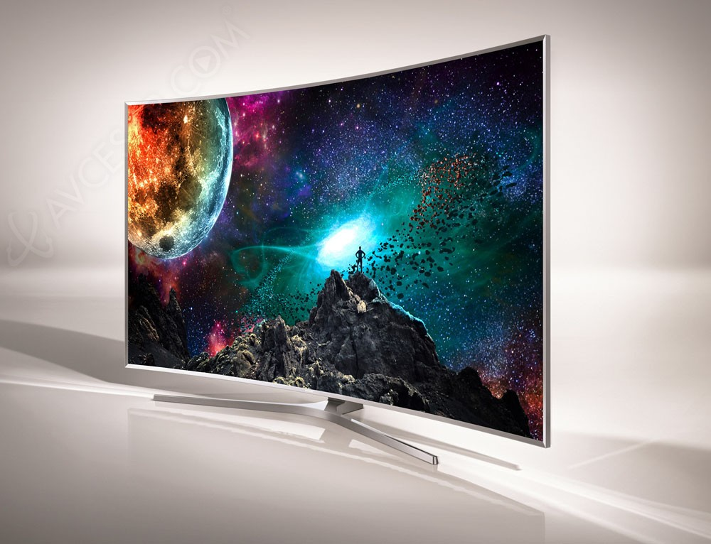 tv led ultra hd samsung js9000 courbes mise jour prix indicatifs. Black Bedroom Furniture Sets. Home Design Ideas