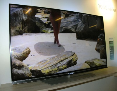 TV LED Ultra HD Philips PUS7150 : Android TV 5.0 + barre sonore intégrée