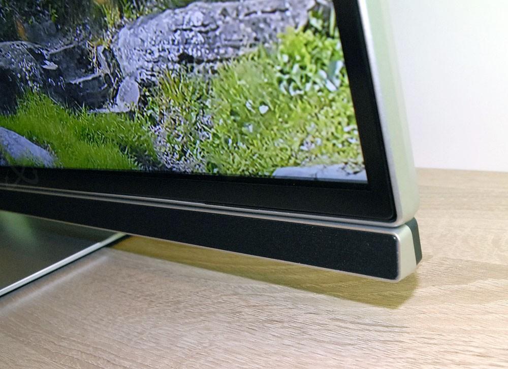 Tv led ultra hd philips pus7150 android tv 5 0 barre - Meuble tv avec barre de son integree ...