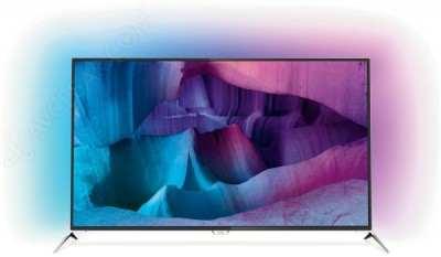 TV LED Ultra HD Philips PUS7170 : Android TV 5.0, double tuner…
