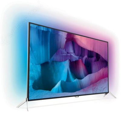 TV LED Ultra HD Philips PUS7600 : Android TV 5.0, double tuner