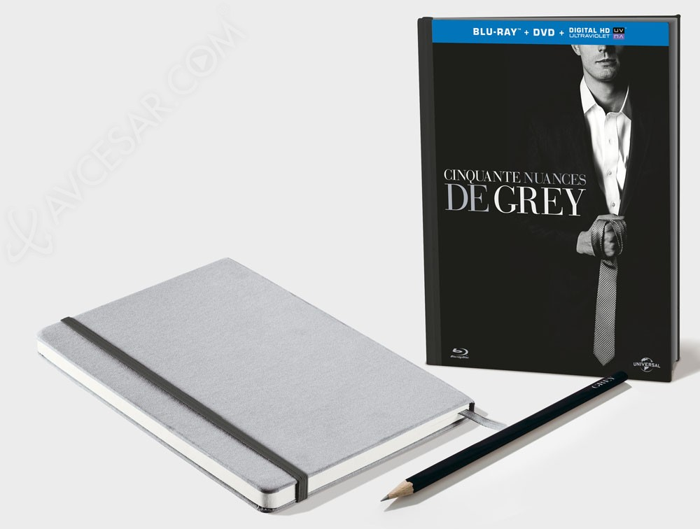 50 nuances de grey en blu ray et dvd version longue for Chambre 50 nuances de grey