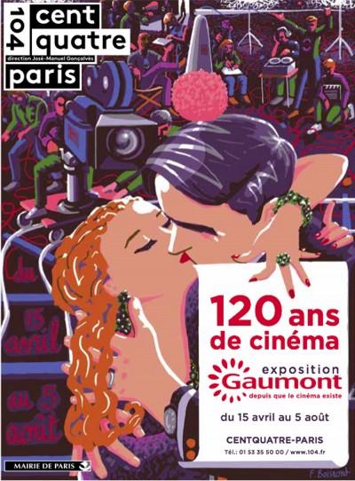 120 ans de cinéma au CentQuatre : Gaumont s'expose du 15 avril au 5 août