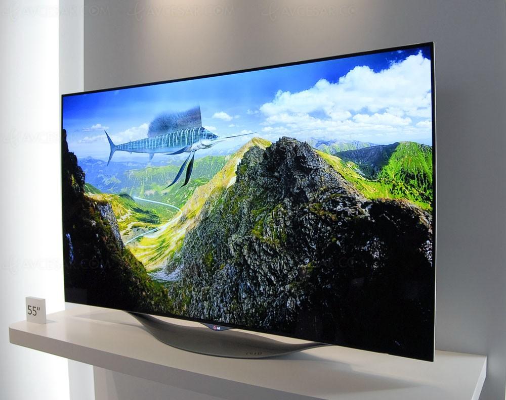 tv oled 2015 lg display choisit le mod le ultra hd 55 39 39 prioritaire. Black Bedroom Furniture Sets. Home Design Ideas