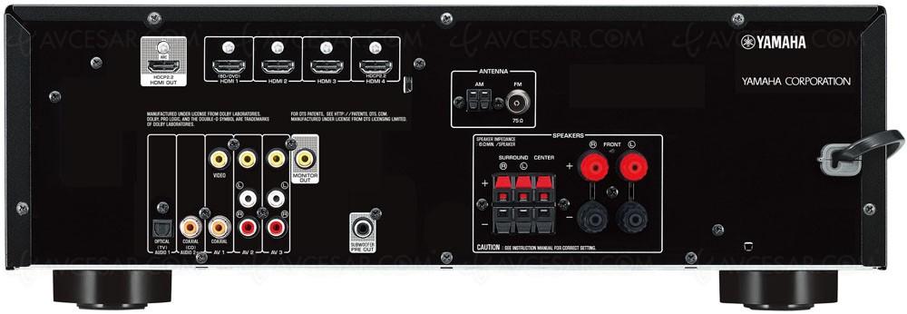 Amplificateur yamaha rx v379 ampli 5 1 bluetooth for Yamaha rx v377 manual