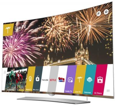 TV Oled Ultra HD LG EG960V courbes : mise à jour HDR annoncée !
