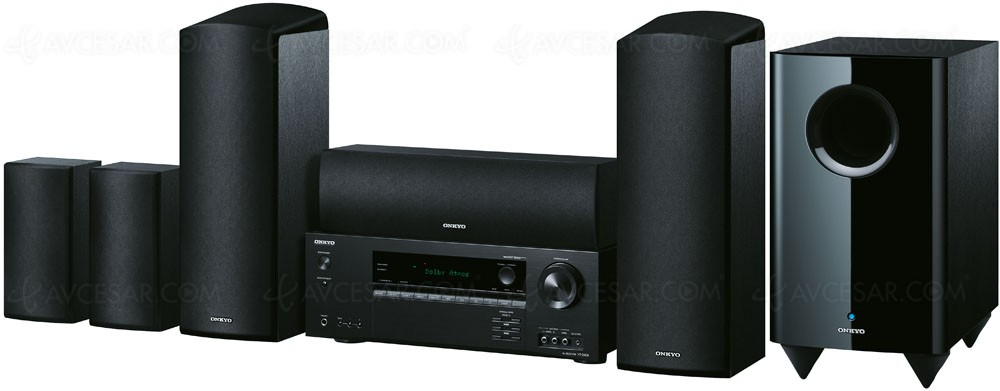 onkyo ht s5805 pack home cin ma 5 1 dolby atmos. Black Bedroom Furniture Sets. Home Design Ideas